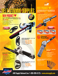 AIM Supply Belt Sanding Supplies Flyer