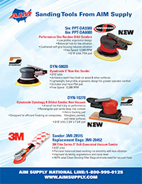 AIM Supply Sanding Tools Flyer