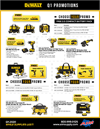 Q1 Promos from Dewalt