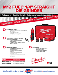 New Product: MWK Die Grinder